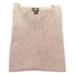 H&M Sweaters - H&M Grey / Gray Sweater Vest - Large